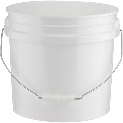 Plastic Pail With Lid 2.5L