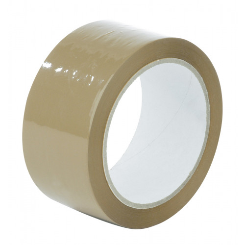Parcel Tape Polypropylene Brown 50mm × 66m