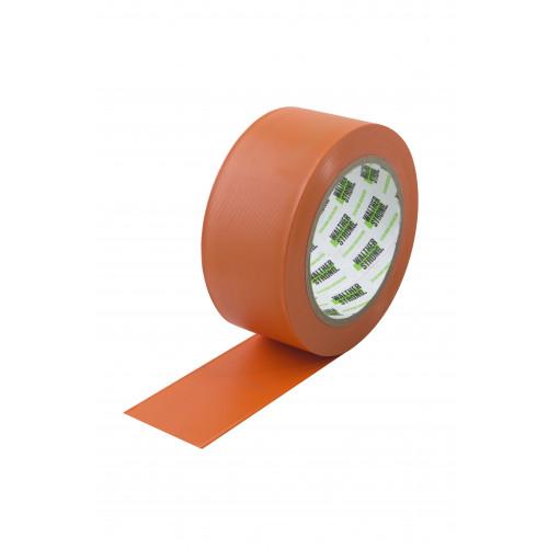 Cleanroom Construction Tape Orange 50mm x 33m