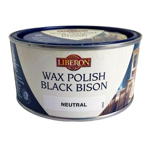 Liberon Wax Black Bison Paste  Clear 1L