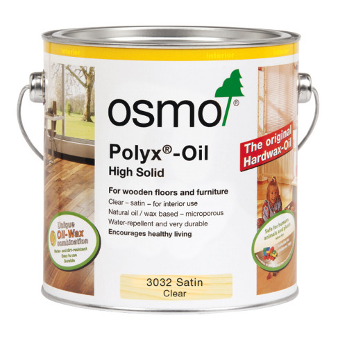 Osmo 3032 Polyx Oil Clear Satin 2.5L