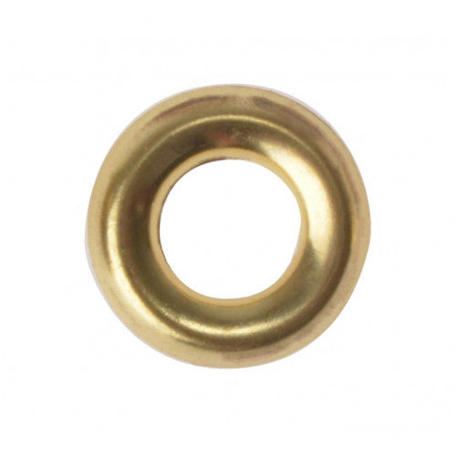 Screw Cups Surface Type  Brass  No 6