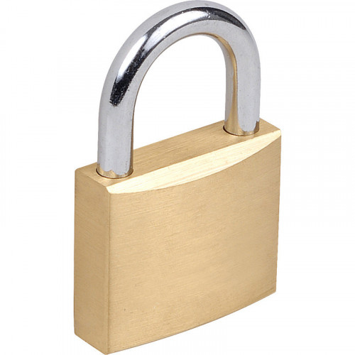 Brass Padlock Standard Shackle 30mm