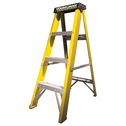 Step Ladders 4 Tread GRP Youngman