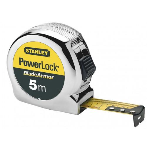 Stanley Tape Measure Powerlock Blade Amor 5m