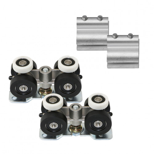 TommaSlide 300 Standard, Single Door Fitting Set, 300kg Capacity