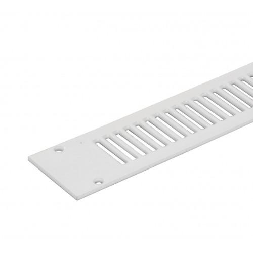 288Mm × 20Mm Tv2000 Aluminium Flat Grille, White