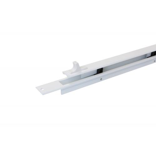 Trimvent Tv90 Aluminium Surface Mount Vent, White, 255X 17Mm
