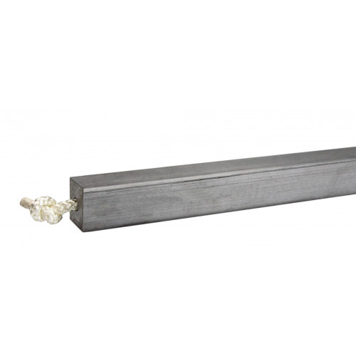 """38Mm (1 1/2"""") Square Lead Sash Weight (Sold By The Lb)"""