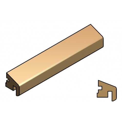 Q-Wood Glazing Bead, 3M